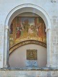 D'Alessandria Базилики di Санты Caterina Galatina, Apulia, Италия Стоковая Фотография