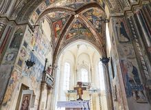D'Alessandria Базилики di Санты Caterina Galatina, Apulia, Италия Стоковая Фотография RF