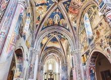 D'Alessandria Базилики di Санты Caterina Galatina, Apulia, Италия Стоковое Фото