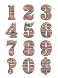 3D alfabetbrieven Royalty-vrije Stock Foto