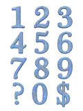 3D alfabetbrieven Stock Fotografie