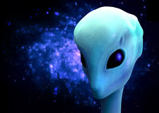 3d alien Royalty Free Stock Image