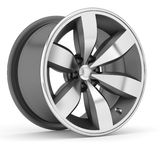 3d Alloy. 3d wheels  in the background Royalty Free Stock Image