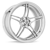 3d Alloy. 3d wheels  in the background Royalty Free Stock Photos