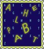 3D Alphabet Royalty Free Stock Photo