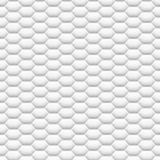 3D als de witte textuur van de netwerkhoningraat Stock Foto