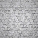 3D Aluminum Traingle Background Royalty Free Stock Photo