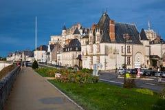 d'Amboise en el Loire Valley, Francia del castillo francés fotografía de archivo