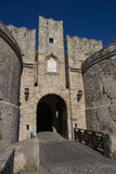 D'Amboise Gate. Island of Rhodes. Greece Royalty Free Stock Image