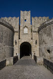 D'Amboise Gate. Island of Rhodes. Greece Royalty Free Stock Photo