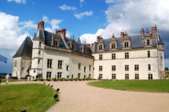 d'Amboise real do castelo Imagens de Stock Royalty Free