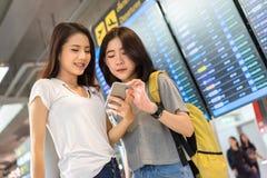 D'ami conseil asiatique de l'information ensemble Photo libre de droits