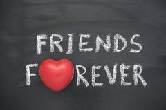 D'amis coeur pour toujours Image libre de droits