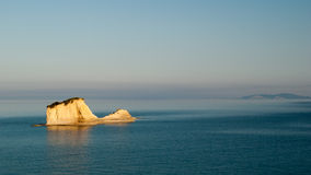 D'amour Sidari, île de canal de Corfou en Grèce La Manche de l'amour Photos libres de droits