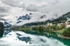 d'Ampezzo Cortina Στοκ Εικόνες