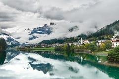d'Ampezzo van Cortina Stock Afbeeldingen