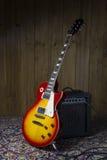 3d amplifikator gitara elektryczna odpłaca się Zdjęcie Stock