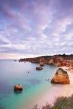 D.Ana strand, Lagos, Algarve Stock Foto