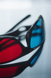 3d anaglyph glasses Stock Image
