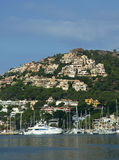 d andraitx Mallorca port w Hiszpanii Fotografia Royalty Free