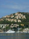 D'Andraitx portuário em Mallorca, Spain Fotografia de Stock Royalty Free