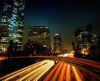 d'Angeles ville de visibilité directe vers le bas Photographie stock