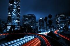 d'Angeles ville de visibilité directe vers le bas Photo stock