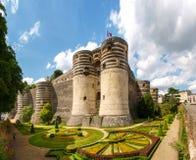 D'Angers Château Στοκ εικόνες με δικαίωμα ελεύθερης χρήσης
