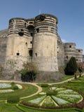d'Angers del chateau Immagini Stock Libere da Diritti