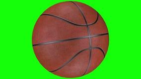 3D animacja realistycznej koszyk?wki balowy ko?ysanie si? dobro royalty ilustracja