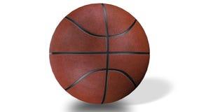 3D animacja znakomitej koszykówki balowy przędzalnictwo w zwolnionym tempie ilustracja wektor