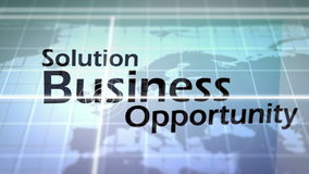 3D Animation of Business Situations stock video footage