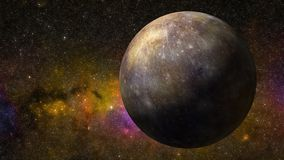 3D Animation of the Planet Mercury