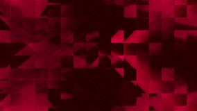 Red pixel moving footage background. 3d animation red pixel moving footage background royalty free illustration