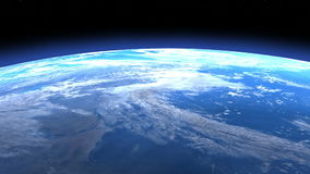 3D Animation of a Space Flight
