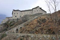 d'Aosta italiano de Valle do castelo Imagem de Stock Royalty Free