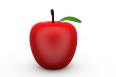 3d apple concept Royalty Free Stock Photos