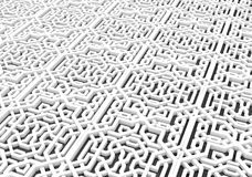 3d Arabic pattern background. 3d Arabic pattern may used as background Royalty Free Stock Image