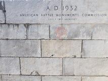 A.D 1932    ARCHITEC. AMERICAN BATTLE  Paul Cret ARCHITEC Stock Photography