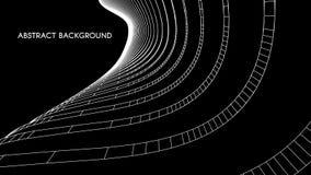 3d architecturale achtergrond abstracte vectorillustratie 3D abstract futuristisch ontwerp voor bedrijfspresentatie Royalty-vrije Stock Foto