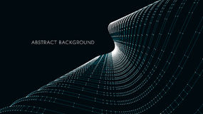 3d architecturale achtergrond abstracte vectorillustratie 3D abstract futuristisch ontwerp voor bedrijfspresentatie Stock Foto