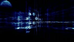 3d architecture, indoor scene,light effects stock video