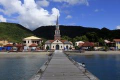 D'arletdorp van Anses, Martinique, de Antillen royalty-vrije stock afbeeldingen