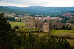 D'Arques del Donjon, Francia Fotografia Stock Libera da Diritti