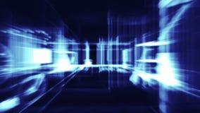 3d arquitectura, escena interior ilustración del vector