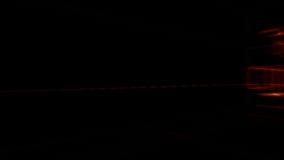 3d arquitectura, escena interior, efectos luminosos libre illustration