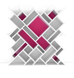 3D arquiva o quadrado Imagem de Stock Royalty Free
