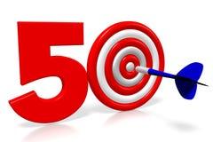 3D arremessa a ilustração - 50 Imagens de Stock Royalty Free