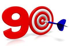 3D arremessa a ilustração - 90 Foto de Stock