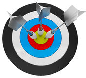 3d Arrow Darts Royalty Free Stock Photos